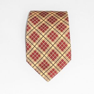 Burberrys of London 100% Silk Plaid Check Necktie